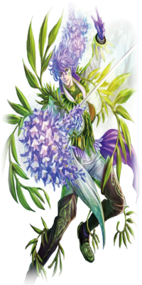 Deep Green Lord, Master Wisteria (Render-ZERO)