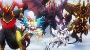 GauntletBuster-Tsukuyomi-MagatsuStorm-BlockadeInferno-BlasterBlade (Anime-SG-NC)