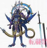 Demon Stealth Dragon, Shiranui Oboro (Anime-Design)
