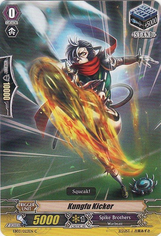 Kungfu Kicker   Cardfight!! Vanguard Wiki   Fandom