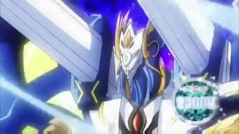 Cardfight!! Vanguard - Leon Rides Blue Wave Dragon Tetra-drive Dragon