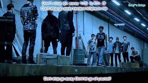 B.A.P - One Shot MV Hangul-Roman-Eng sub (read describtion)