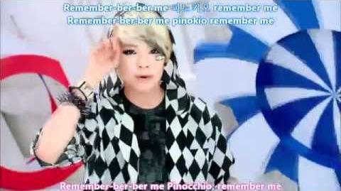 F(x) - Pinocchio Eng Sub Romanized Hangul