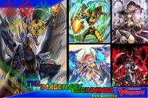 Cardfight Vanguard Fan Booster Set- Imaginary Beginnings