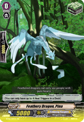 Feathery Dragon, Pina