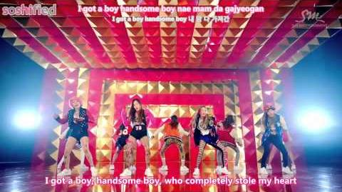 SNSD - I Got a Boy MV (en)
