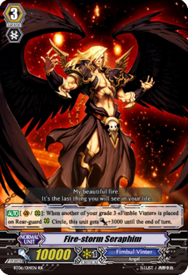 Fire-storm Seraphim