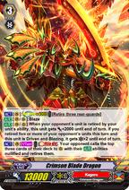 Crimson Blade Dragon