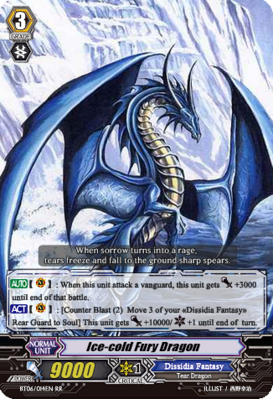 Ice-cold Fury Dragon