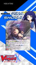 X Trial Deck 2 - Rina Shouji
