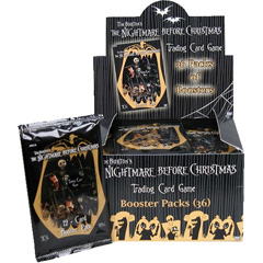 the game was designed by andrew parks and kez shlasnger it consists of a premiere set and 4 starter decks based on four characters jack skellington - Christmas Card Games