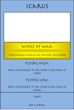 Icarus Card