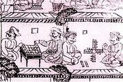 Men Playing Board Games
