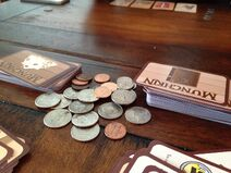 Munchkin card game being played , March 2014