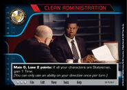 Clean Administration (D0)