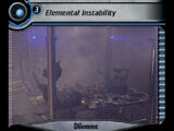Elemental Instability (SM)
