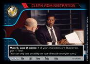 Clean Administration (1E)