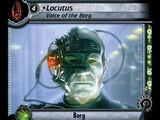 Locutus - Voice of the Borg (Errata)