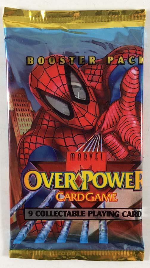 Bodyslide Cable Marvel Overpower 1995 Fleer Special CCG Card
