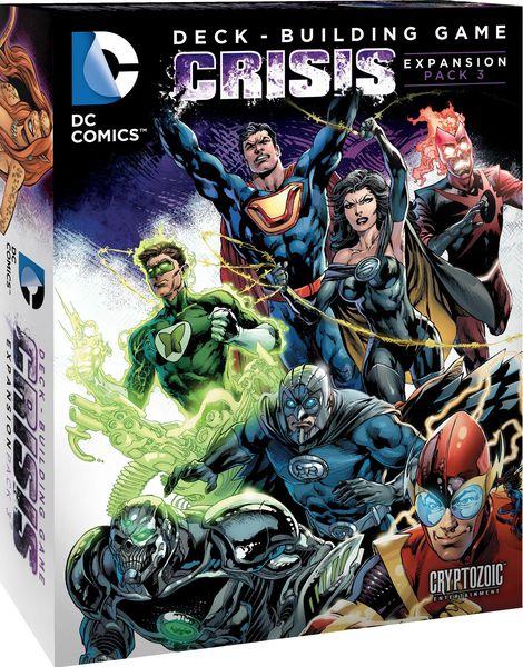 PSYCHIC STATIC 2016 DC Comics Deck Building Game CRISIS 3