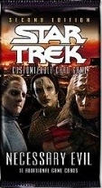 Star Trek CCG Necessary Evil 4R44 Caught in the Act