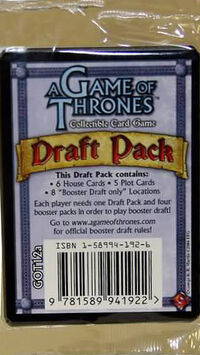 Draftpack booster