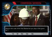 Campaign Season (1E) (AI)