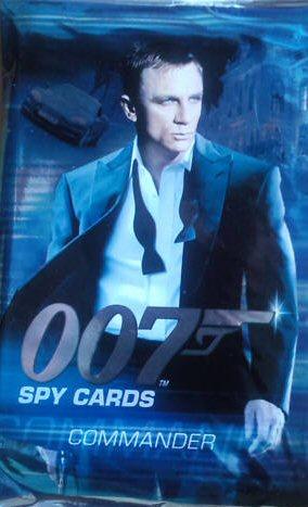 James Bond 007 Spy Cards - The Stealth Ship 2008 Super Rare 014