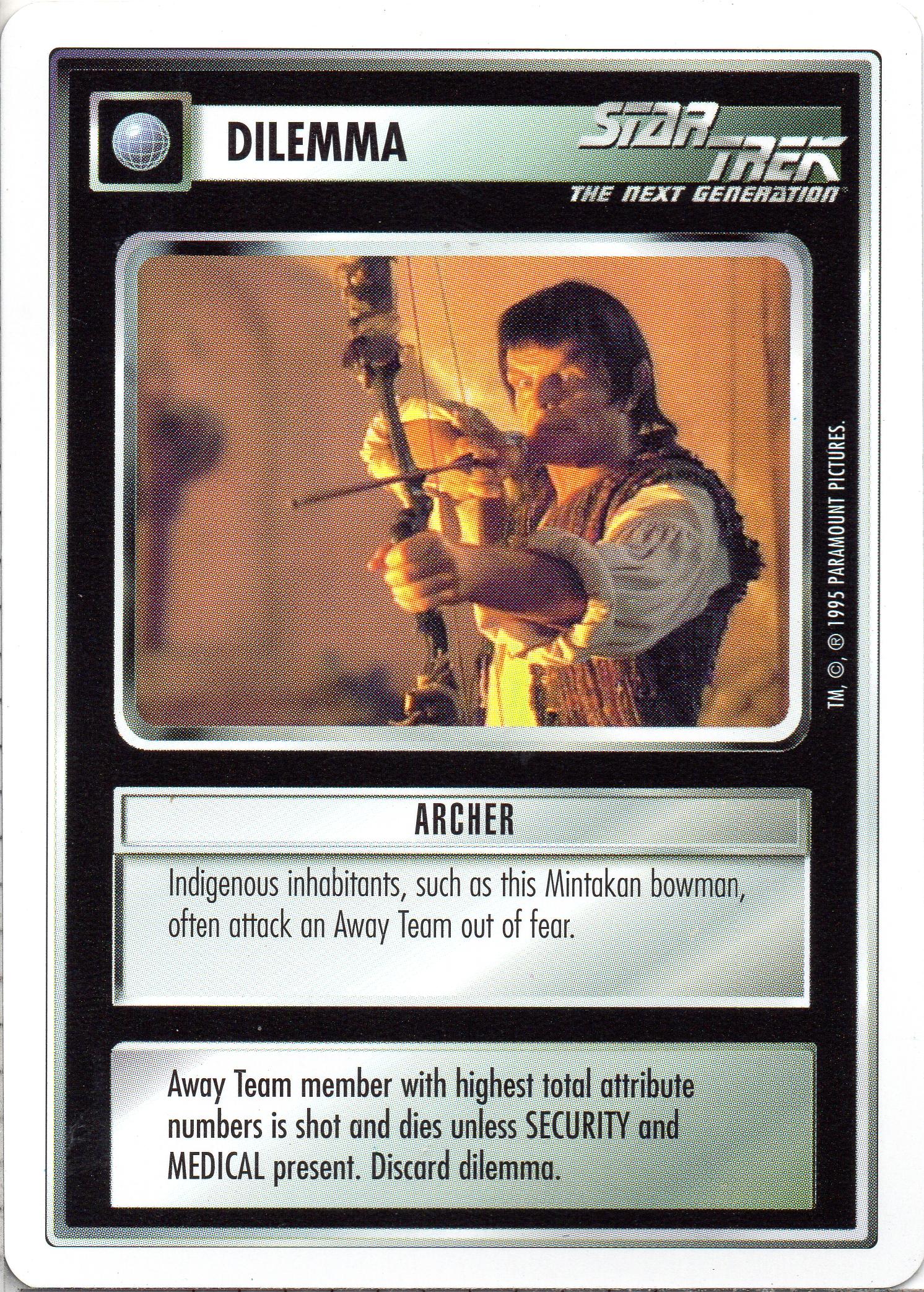 Archer (PU95) | CardGuide Wiki | FANDOM powered by Wikia