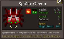 SpiderQueen