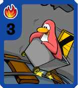 Level 3 Fire Cart Surfer card