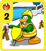 Level 2 Fire Jackhammer Construction card