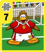 Level 7 Snow Soccer card