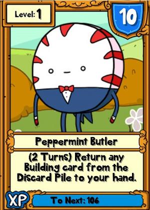 Peppermint Butler Hero Card