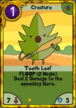 Teeth Leaf Gold