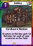 Cardboard Mansion