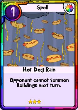 Hot Dog Rain
