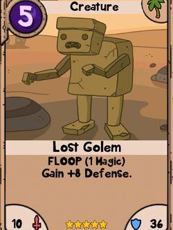 Lost Golem