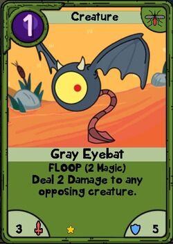 Gray Eyebat