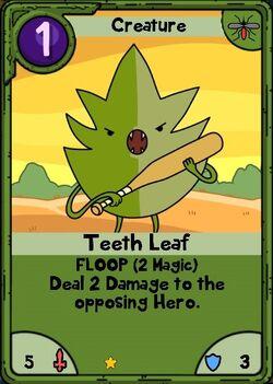 Teeth Leaf