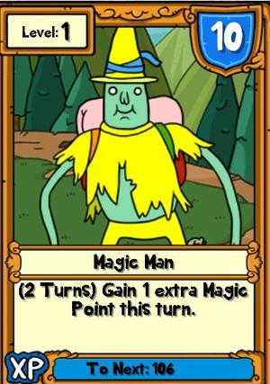 Magic Man Hero Card