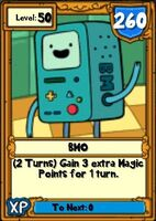 Super BMO Hero Card