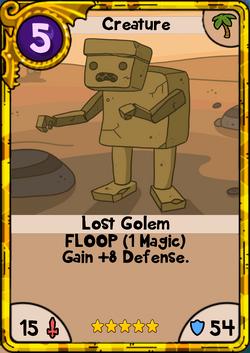 Lost Golem Gold