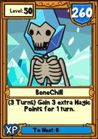 BoneChill Hero Card