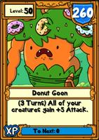 Donut Goon Hero Card