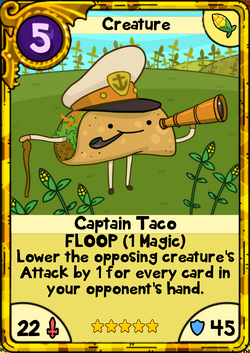 Captain Taco Gold