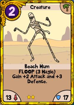 Beach Mum Gold