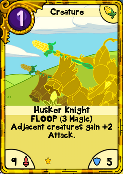 Husker Knight Gold