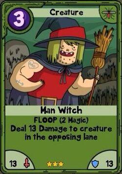 Man Witch