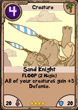 Sand Knight